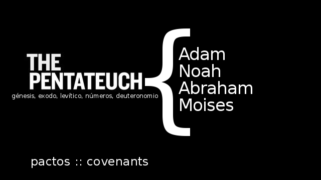 Our Fall series is focused on the cocenants in the Pentateuch.