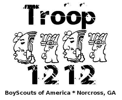 Good meeting of Troop 1212