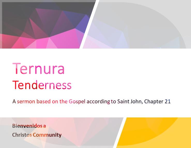 Ternura – Juan 21