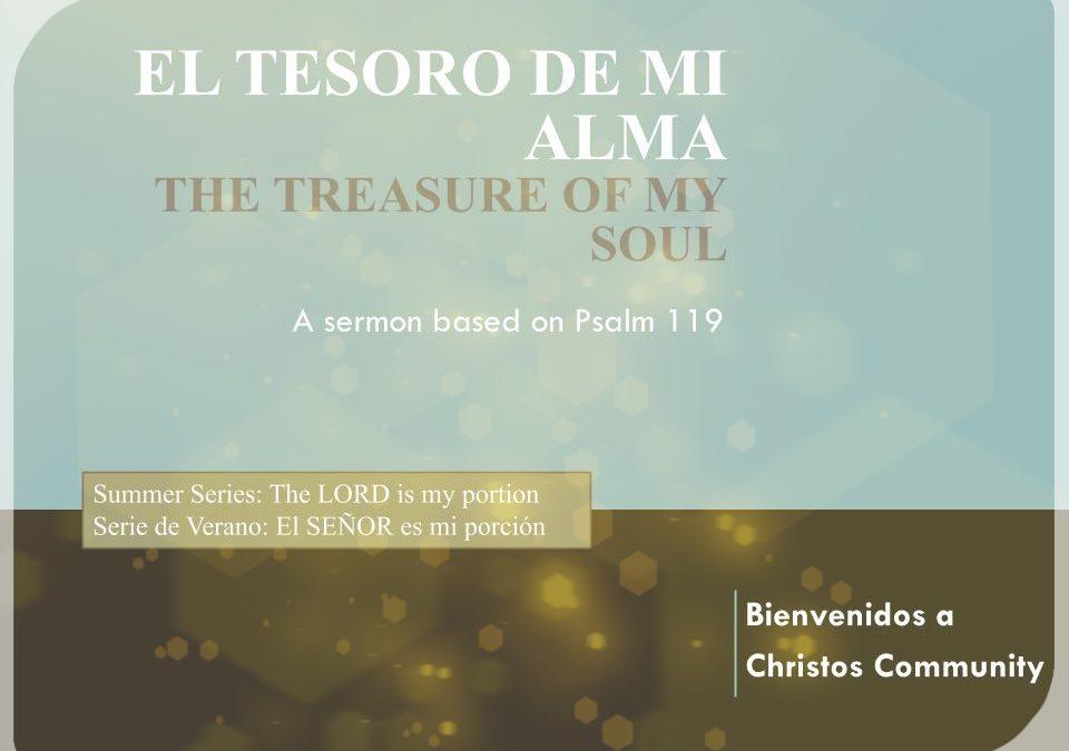 El Tesoro de Mi Alma – Salmo 119