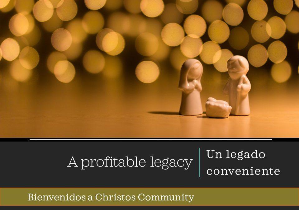 A profitable legacy | Ecclesiastes 9:11-18