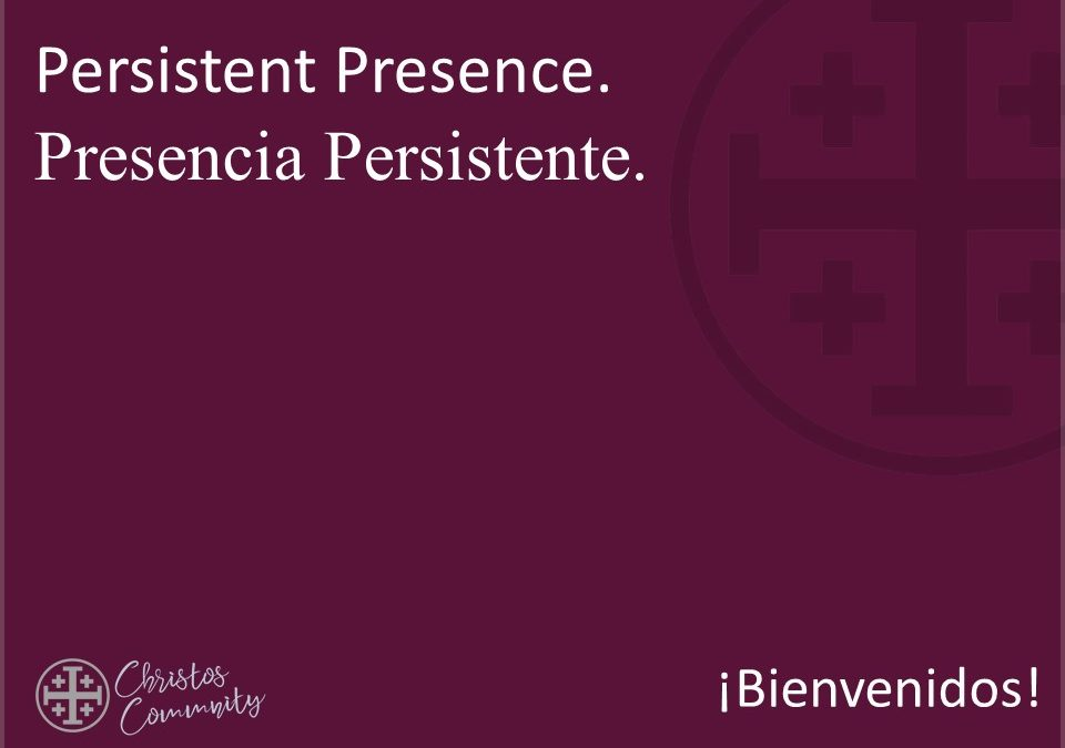 Persistent Presence | Acts 5